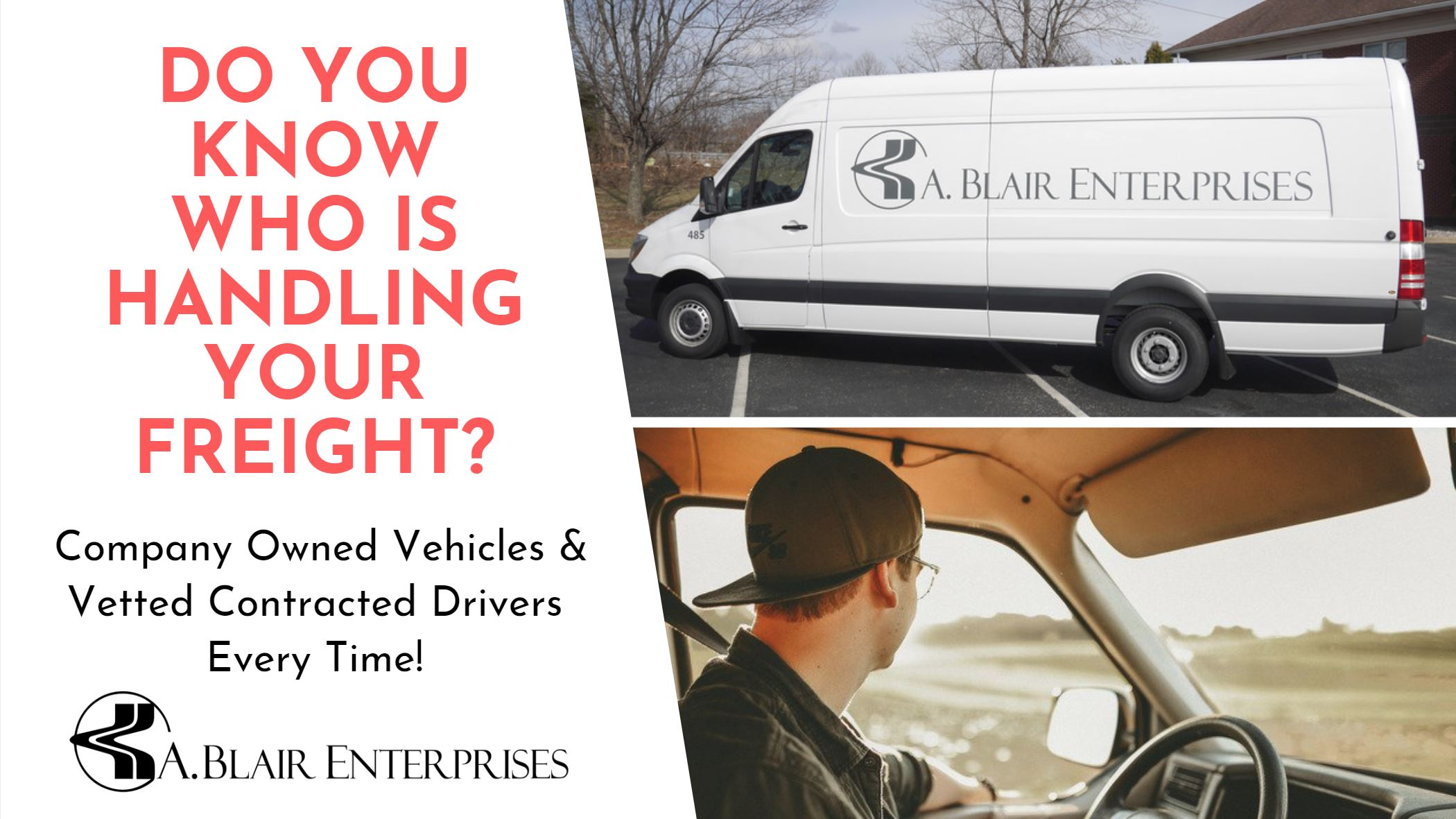 Do you know who is handling your freight.JPG