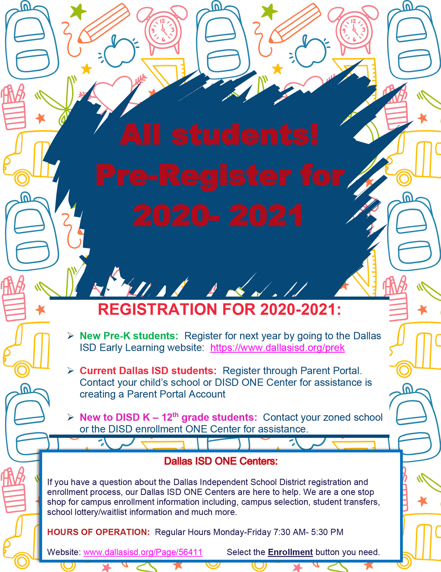 Registration For 2020 2021 School Year Arthur Kramer An Ib World School