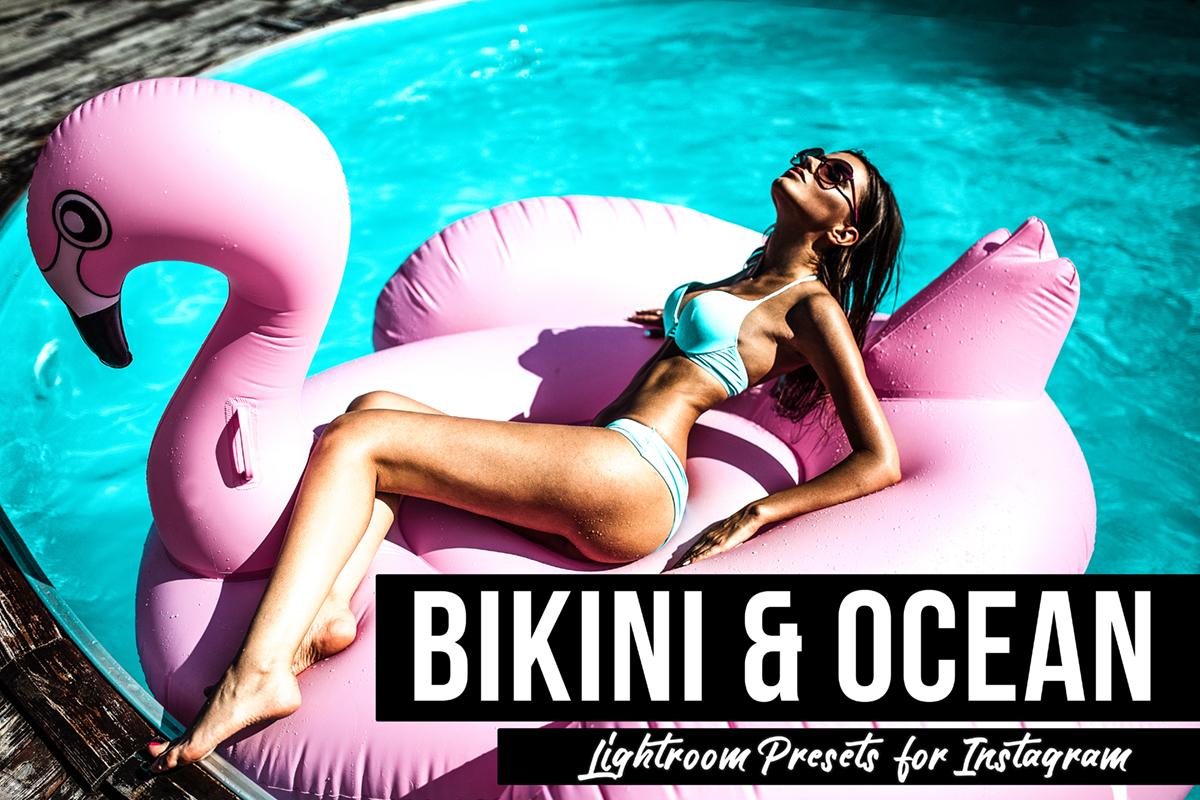 Bikini & Ocean Lightroom Presets Package