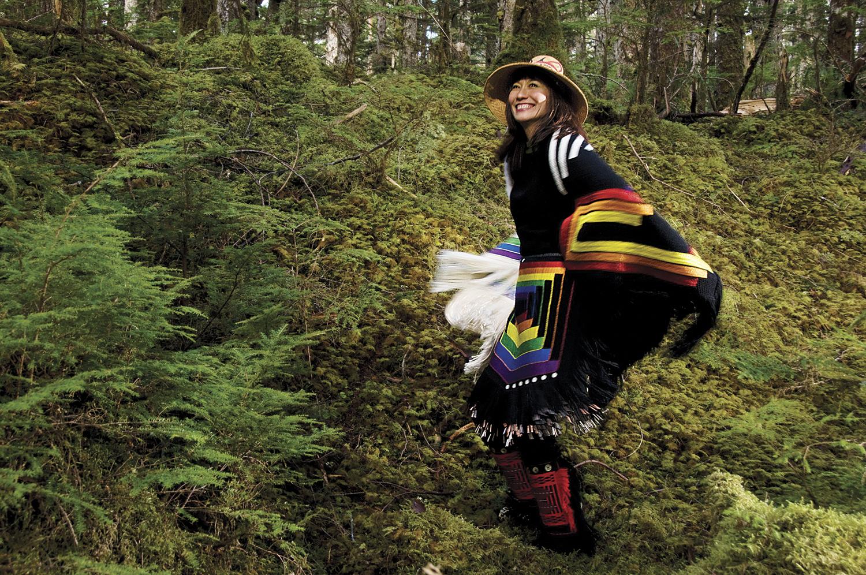 Terri-Lynn is a Haida musician, activist, artist, and lawyer.