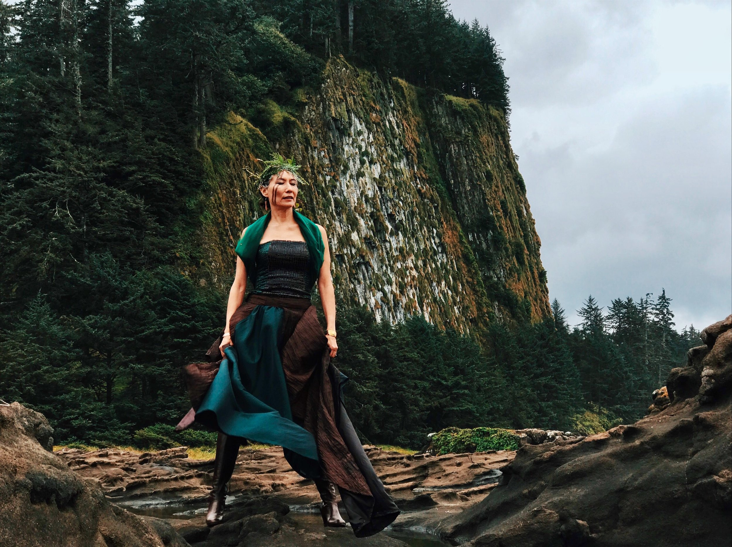 "Her 2011 album ""New Journeys"" was a first for Haida music, featuring songs in the Haida language."