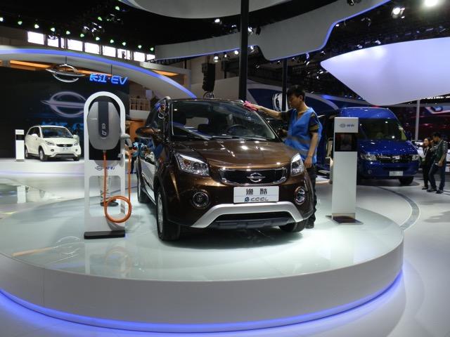 Beijing Auto Show 2016 EV models