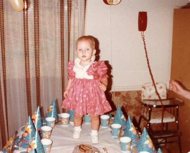 My 1st Birthday. Nov 7, 1983