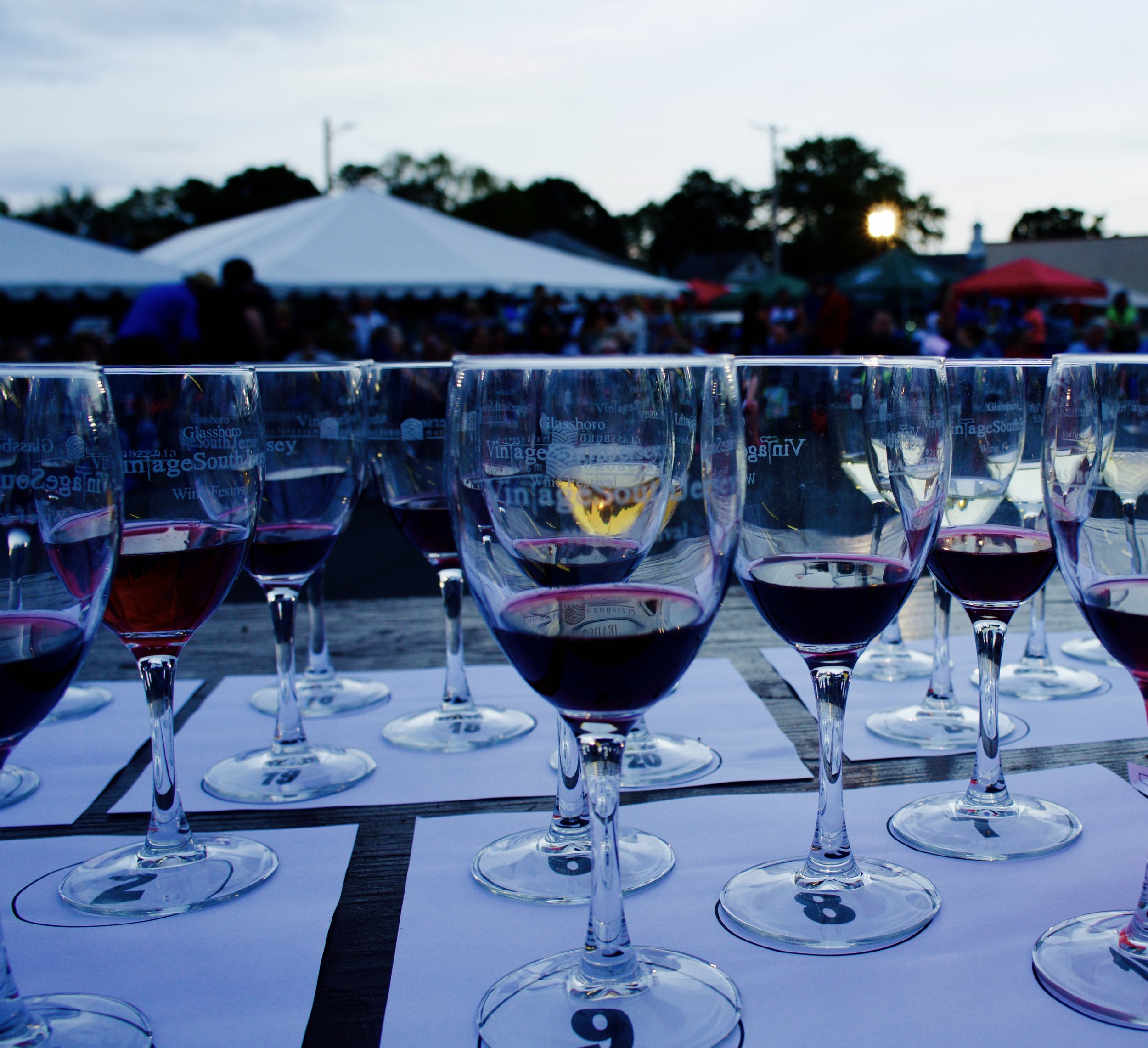 glassboro st. anthony's italian festival wine contest