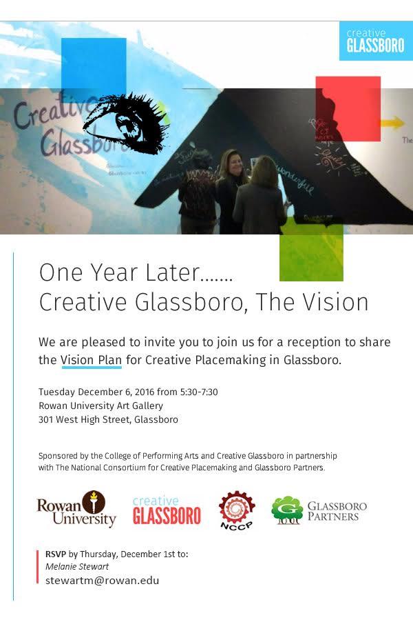 creative glassboro reception