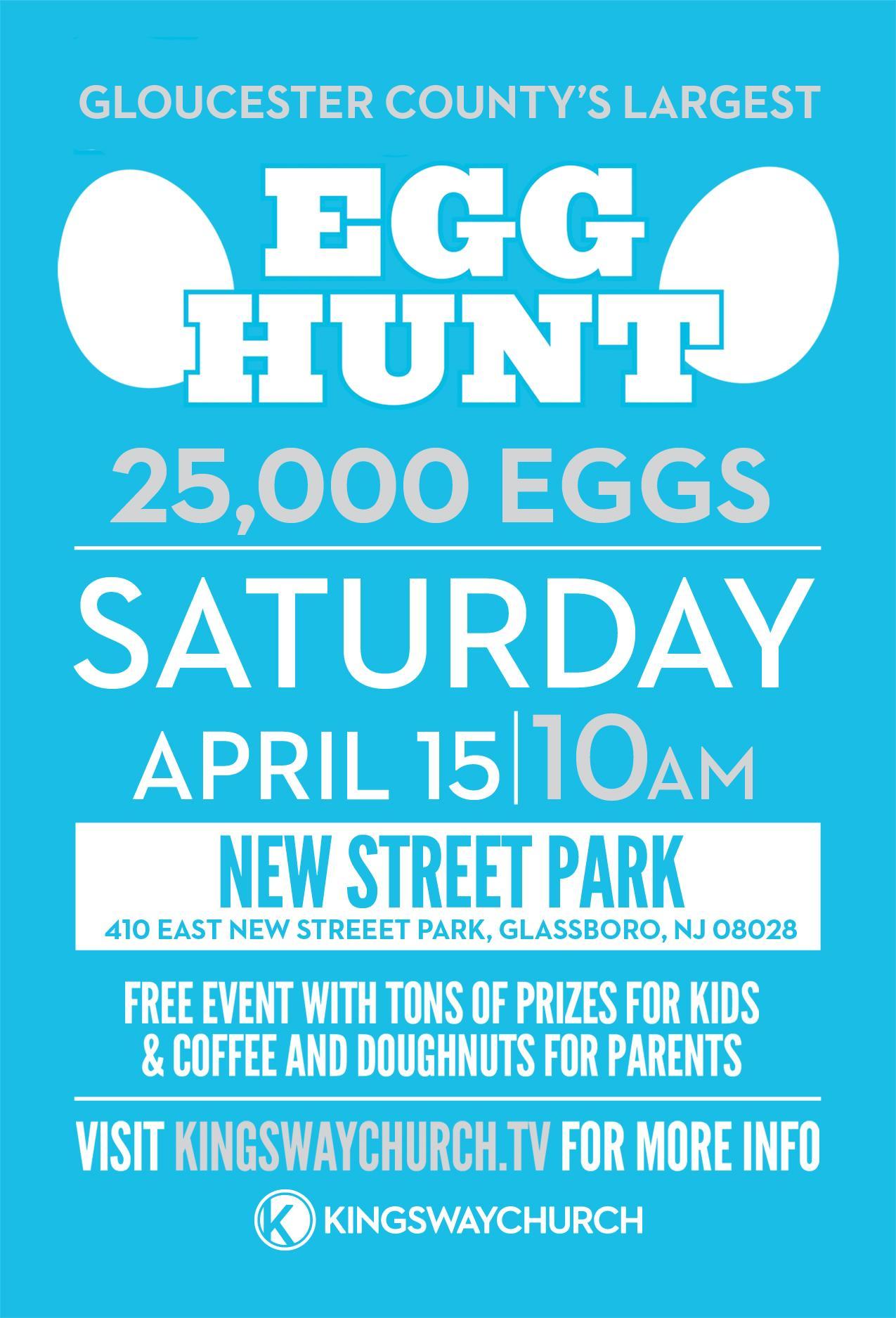 glassboro egg hunt