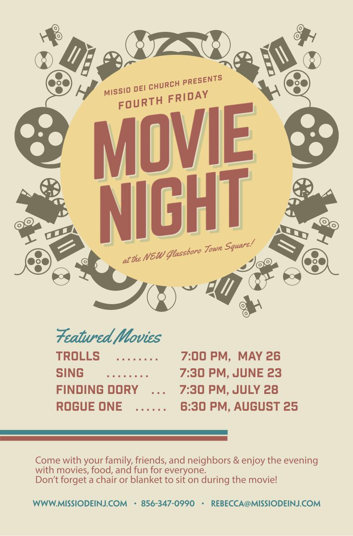 glassboro movie nights