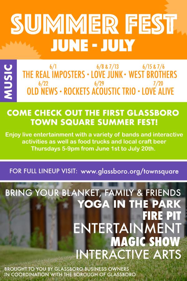 glassboro summer fest