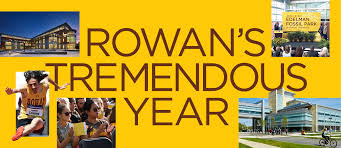 rowan university's tremendous year