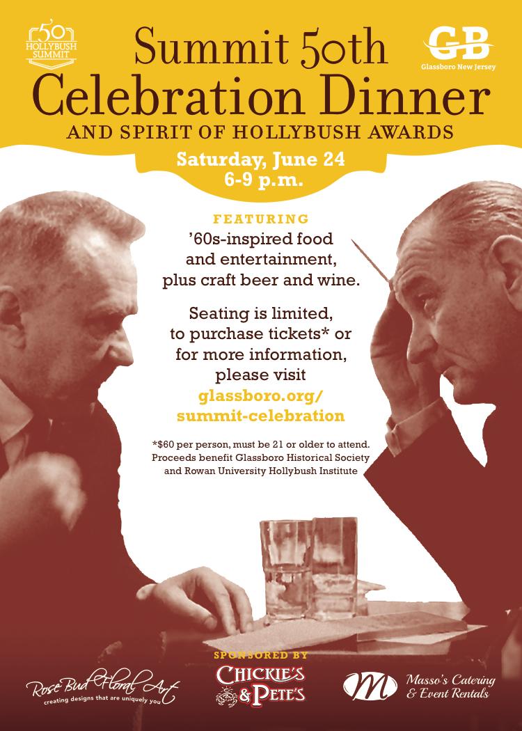 glassboro Celebration Dinner and spirit of hollybush awards