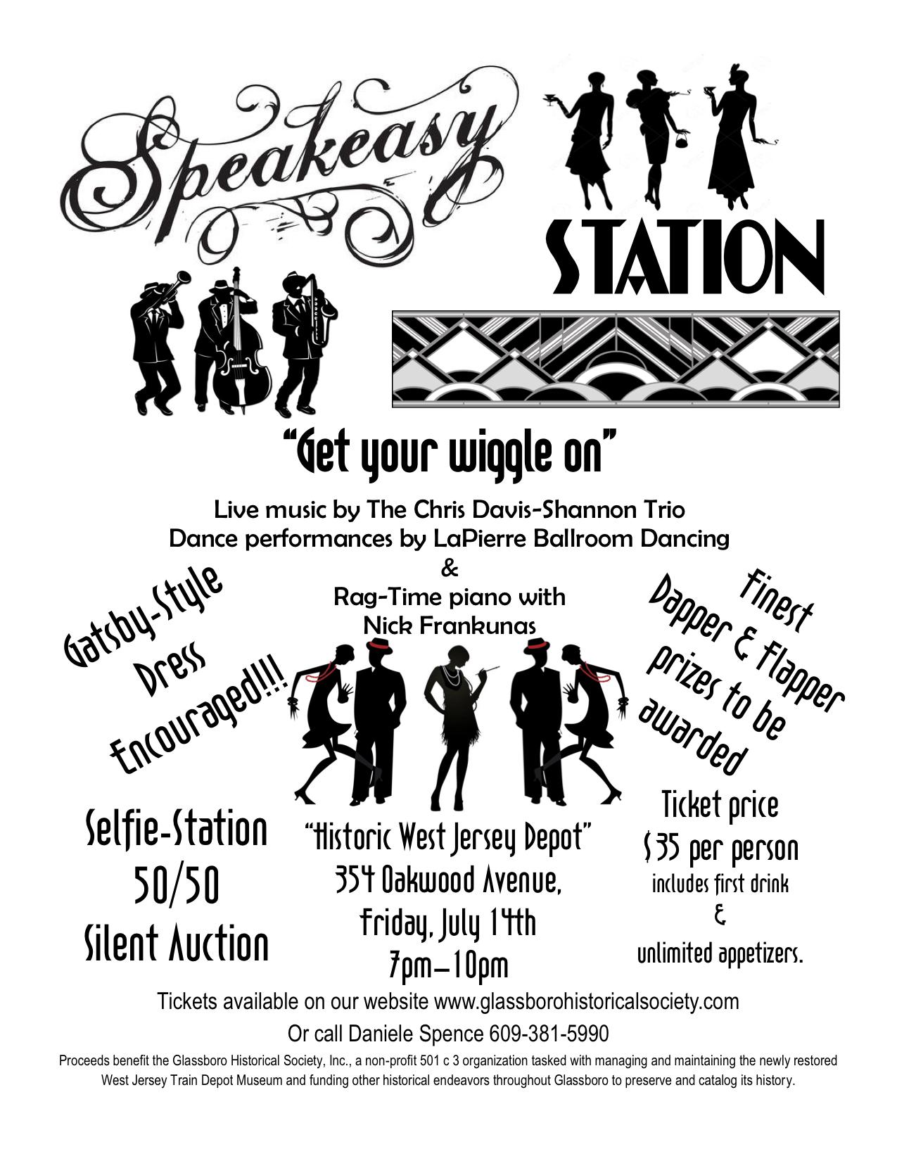 glassboro speakeasy station