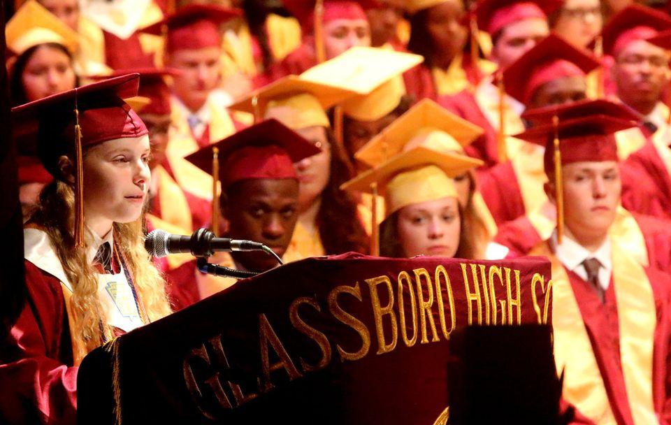 Glassboro high school graduation 2017