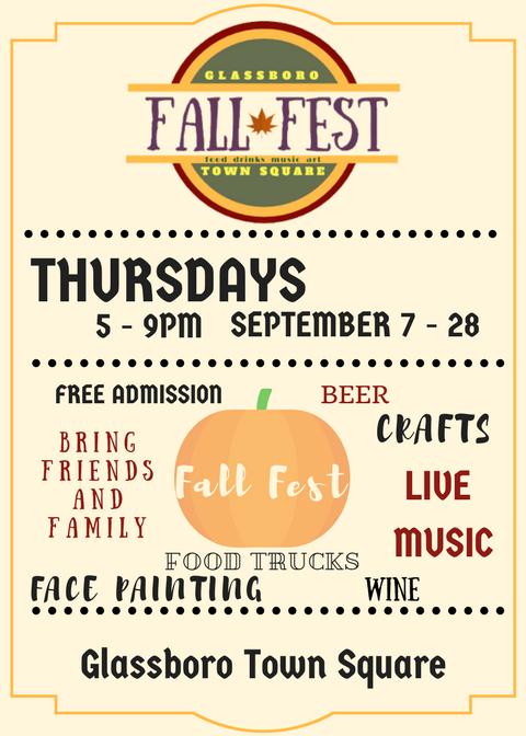 Glassboro Town Square Fall Fest