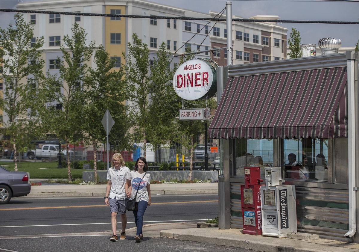 In Glassboro, Rowan's boulevard of dreams may be coming true