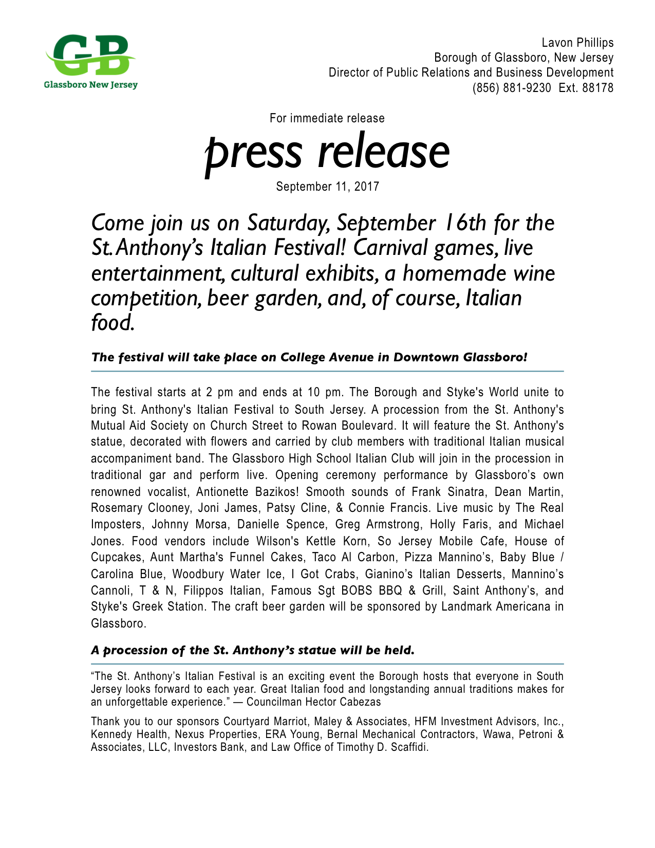 2017 St. Anthony's Italian Festival Press release.jpeg