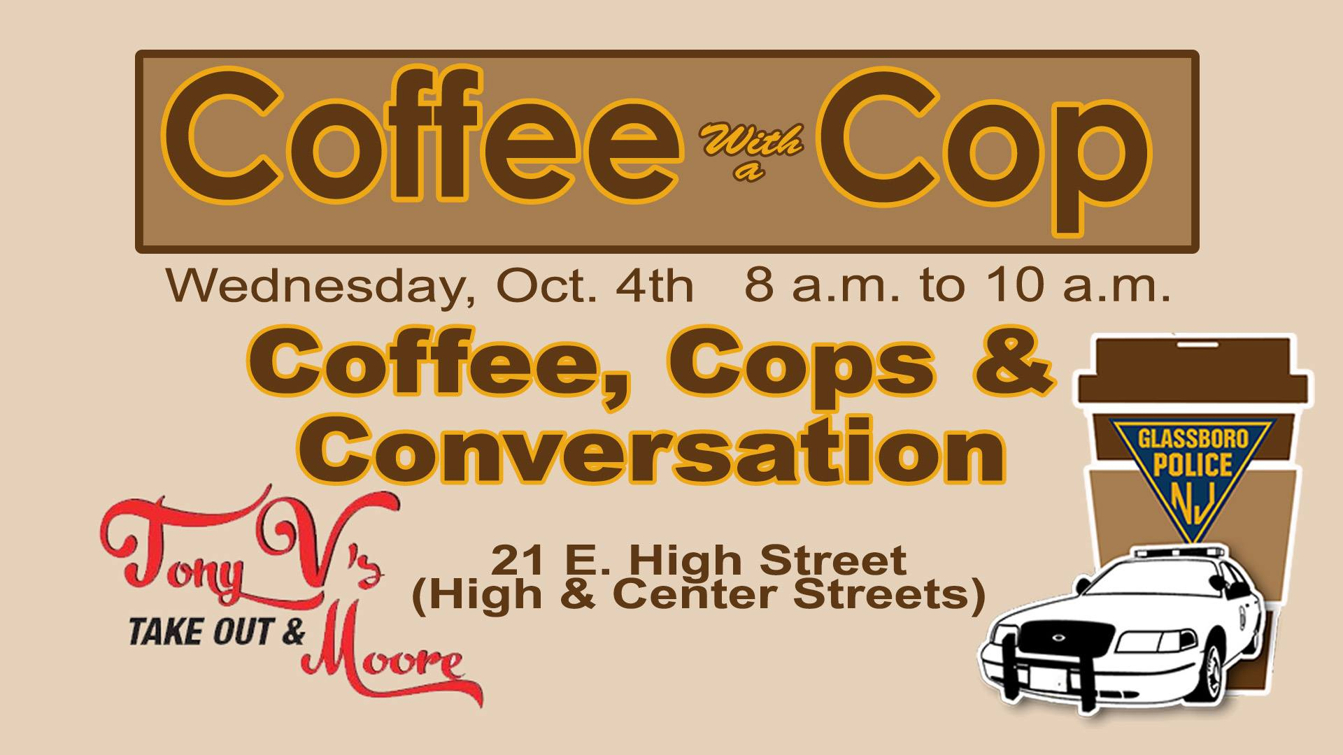 coffee with a glassboro cop