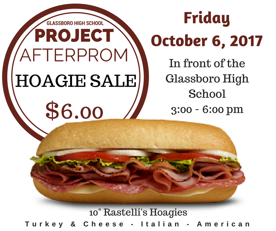 project after prom hoagie sale