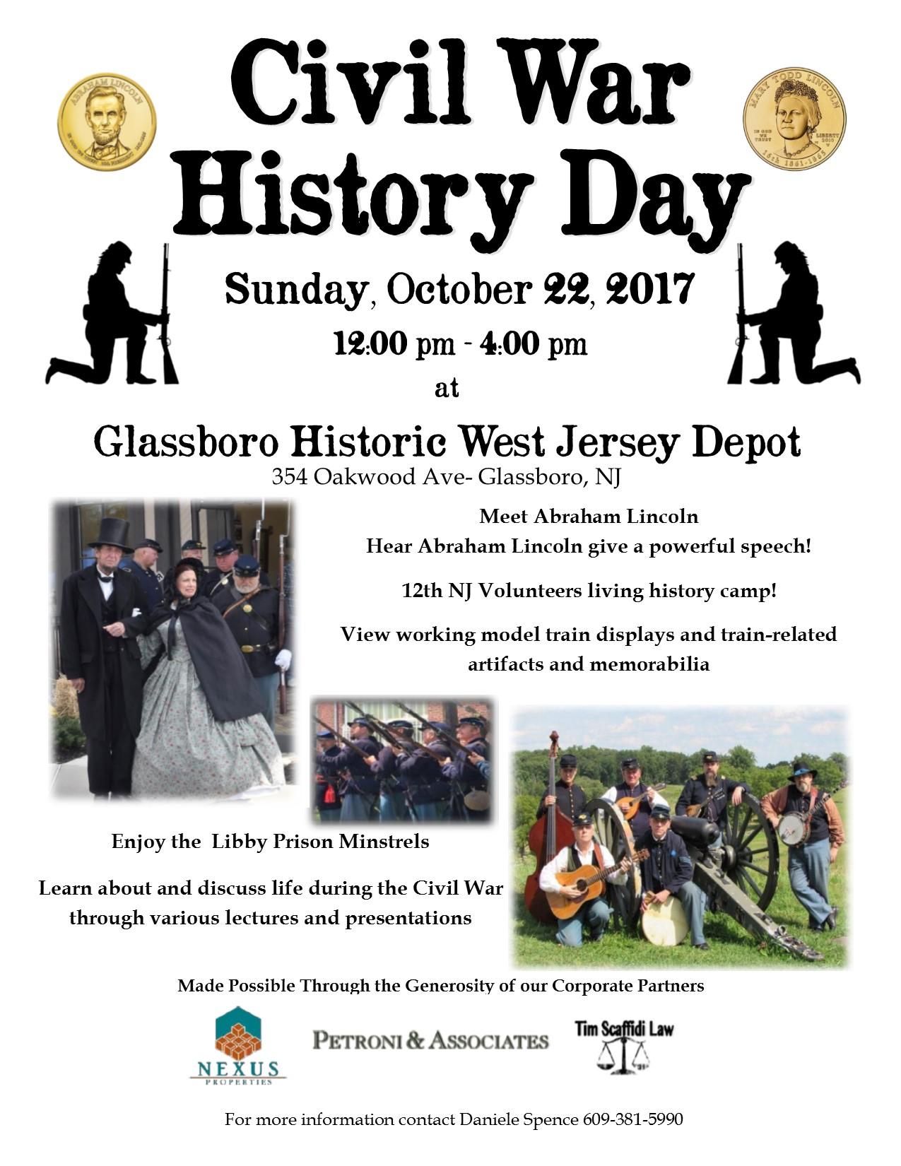 glassboro Civil War history day