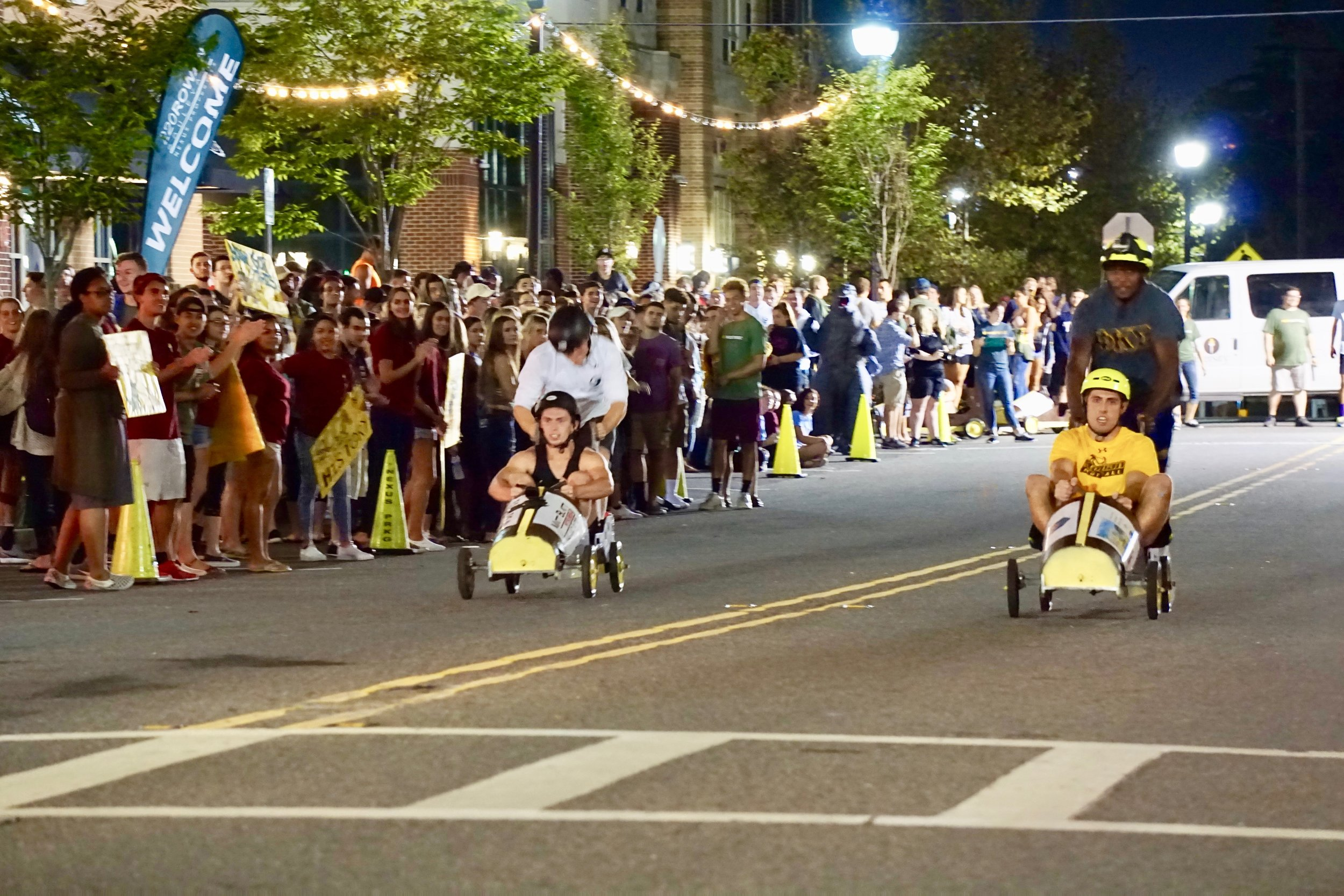 glassboro rowan university push cart races
