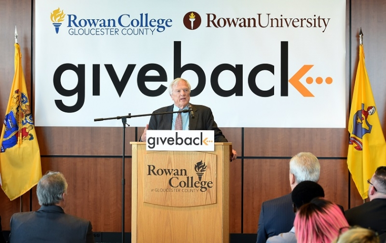 $1.5 million gift from Give Something Back to support scholarships at RCGC and Rowan University
