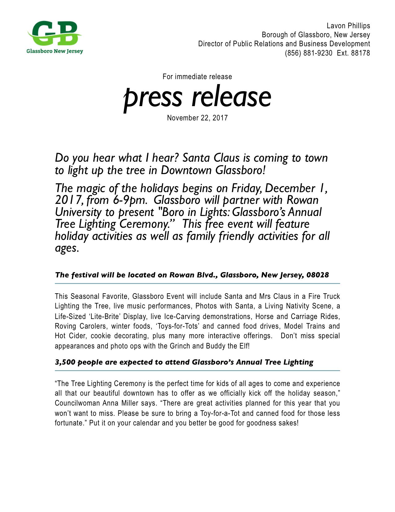 Glassboro NJ Press Release 2017 Boro In Lights.jpeg