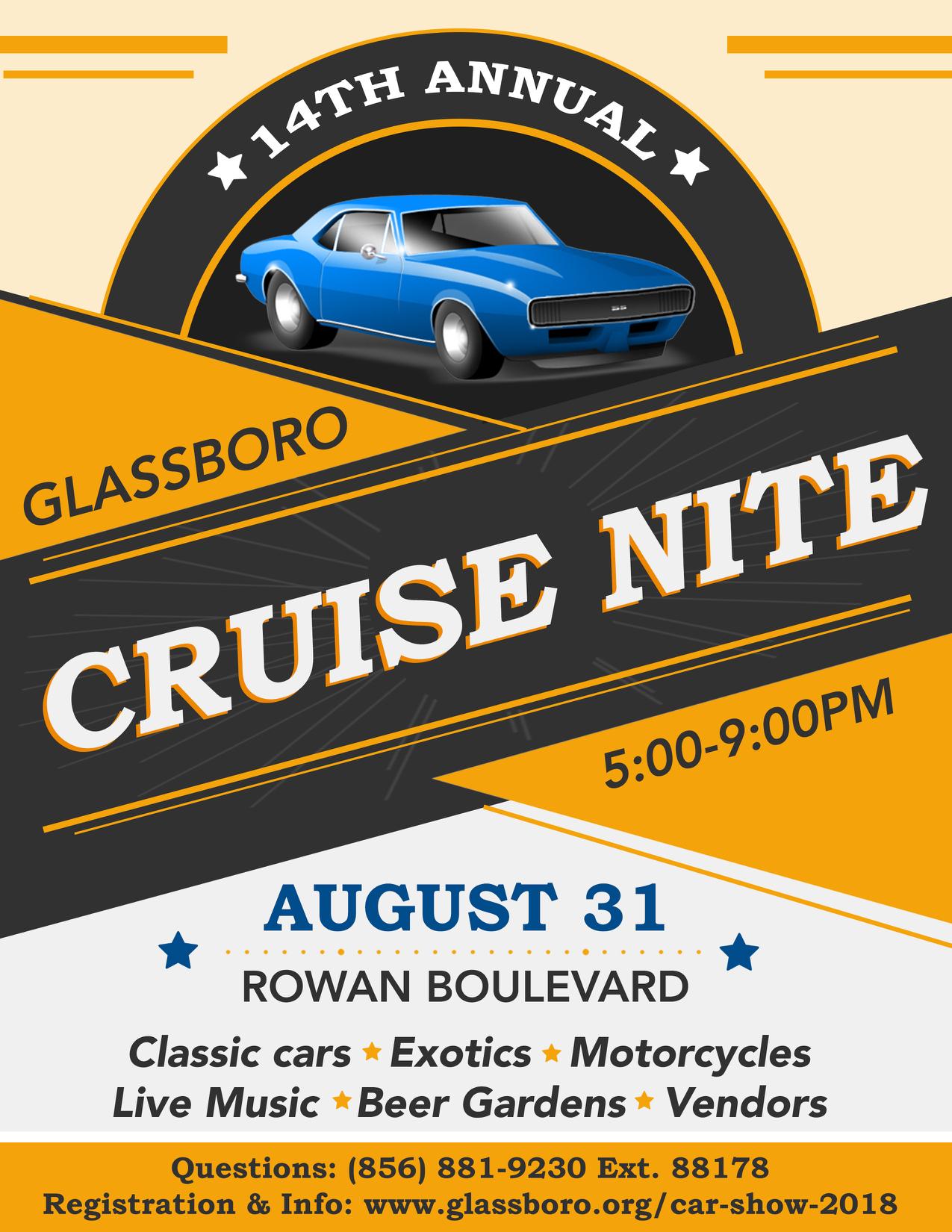 glassboro car show 2018
