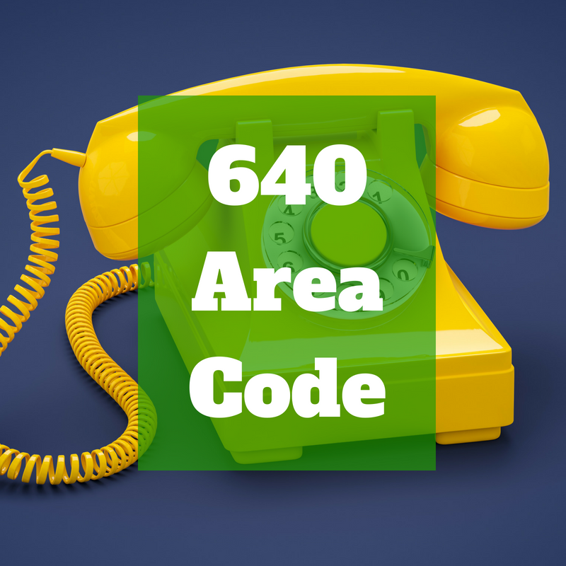 new south jersey area code