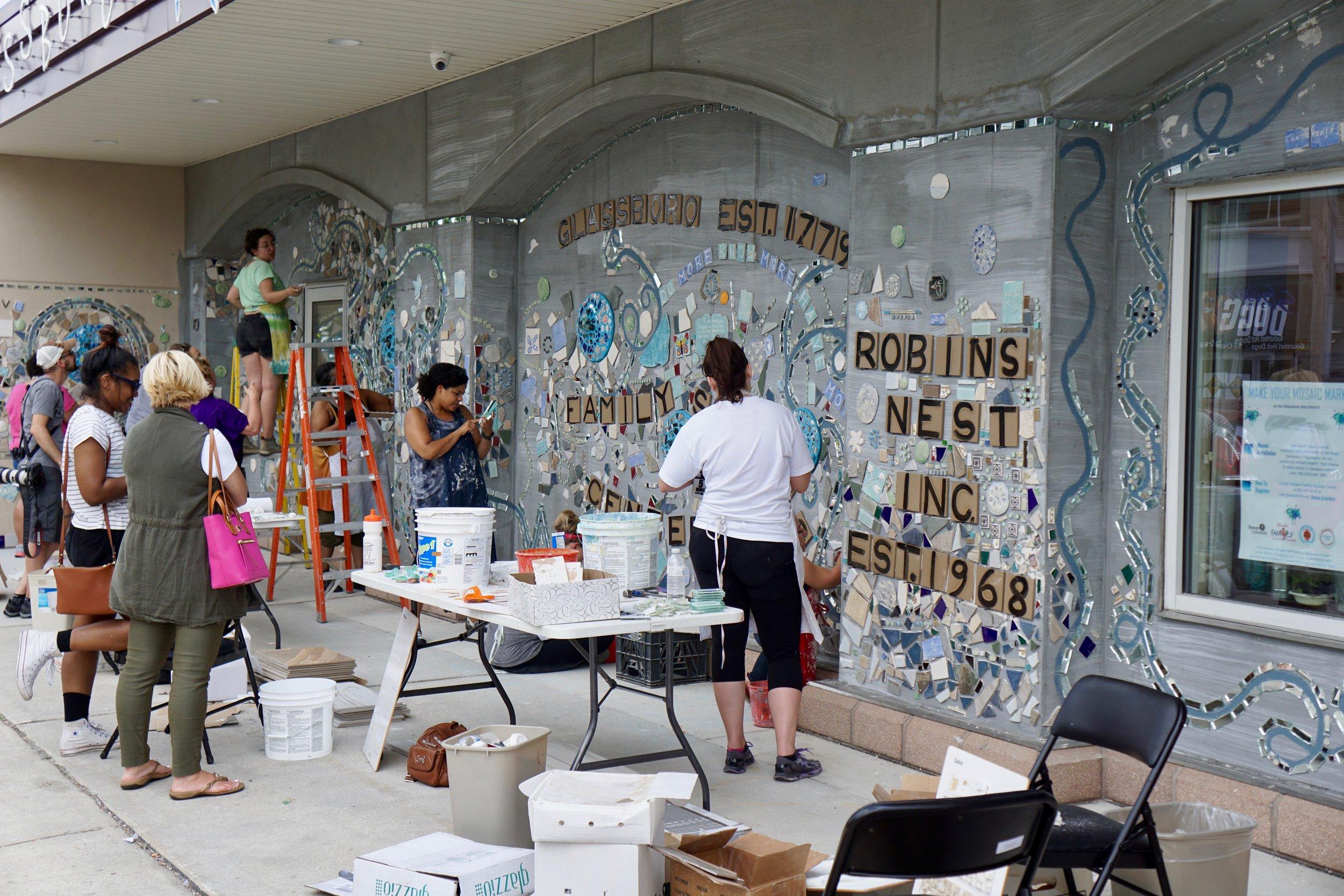 Isaiah Zagar Mosaic Mural for glassboro5.jpg