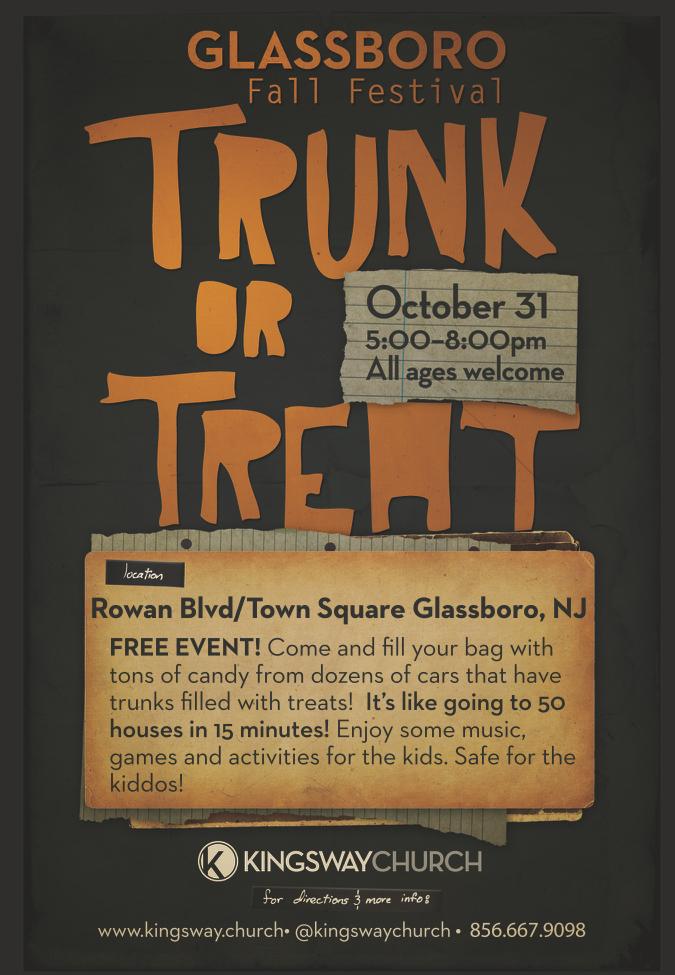 glassboro trunk or treat