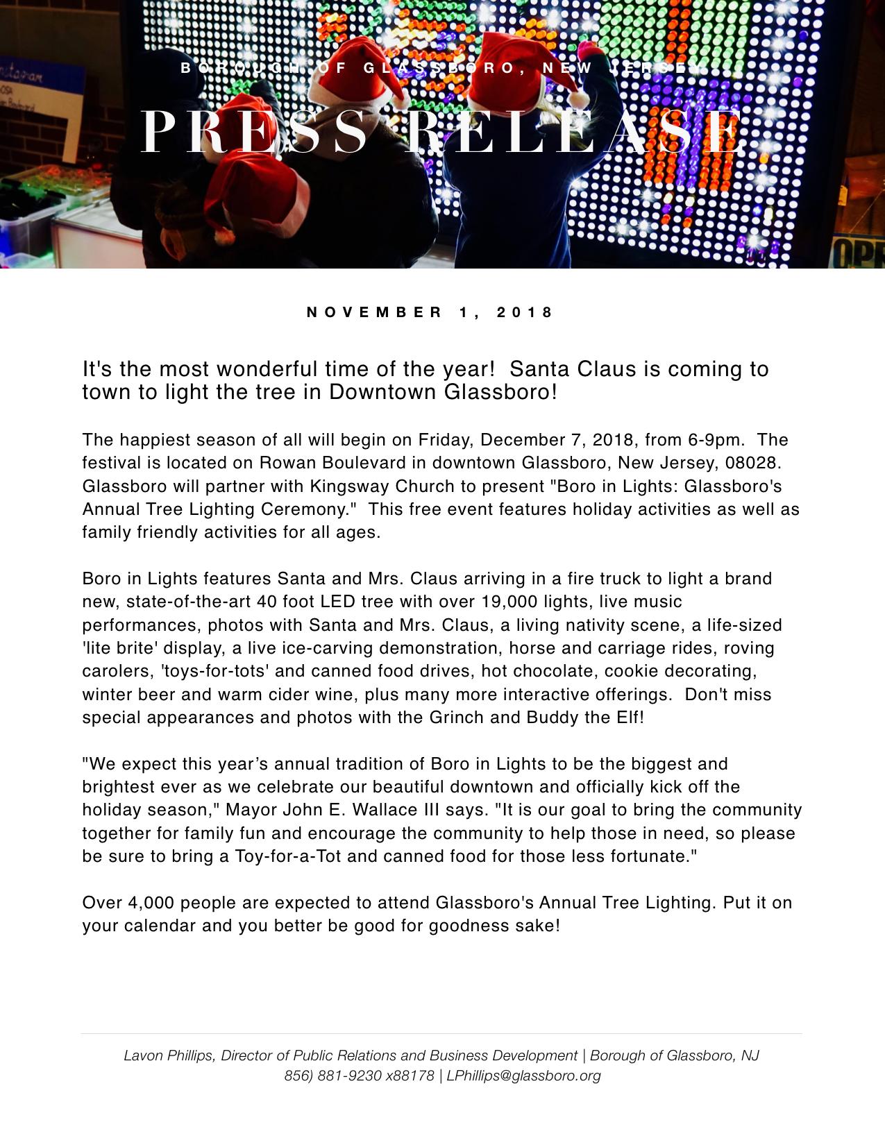 Glassboro NJ Press Release 2018 Boro in Lights.jpeg