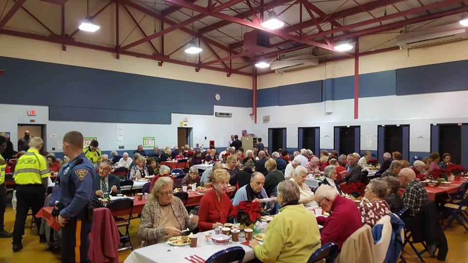 Glassboro Police set the table for annual senior holiday dinner.jpg