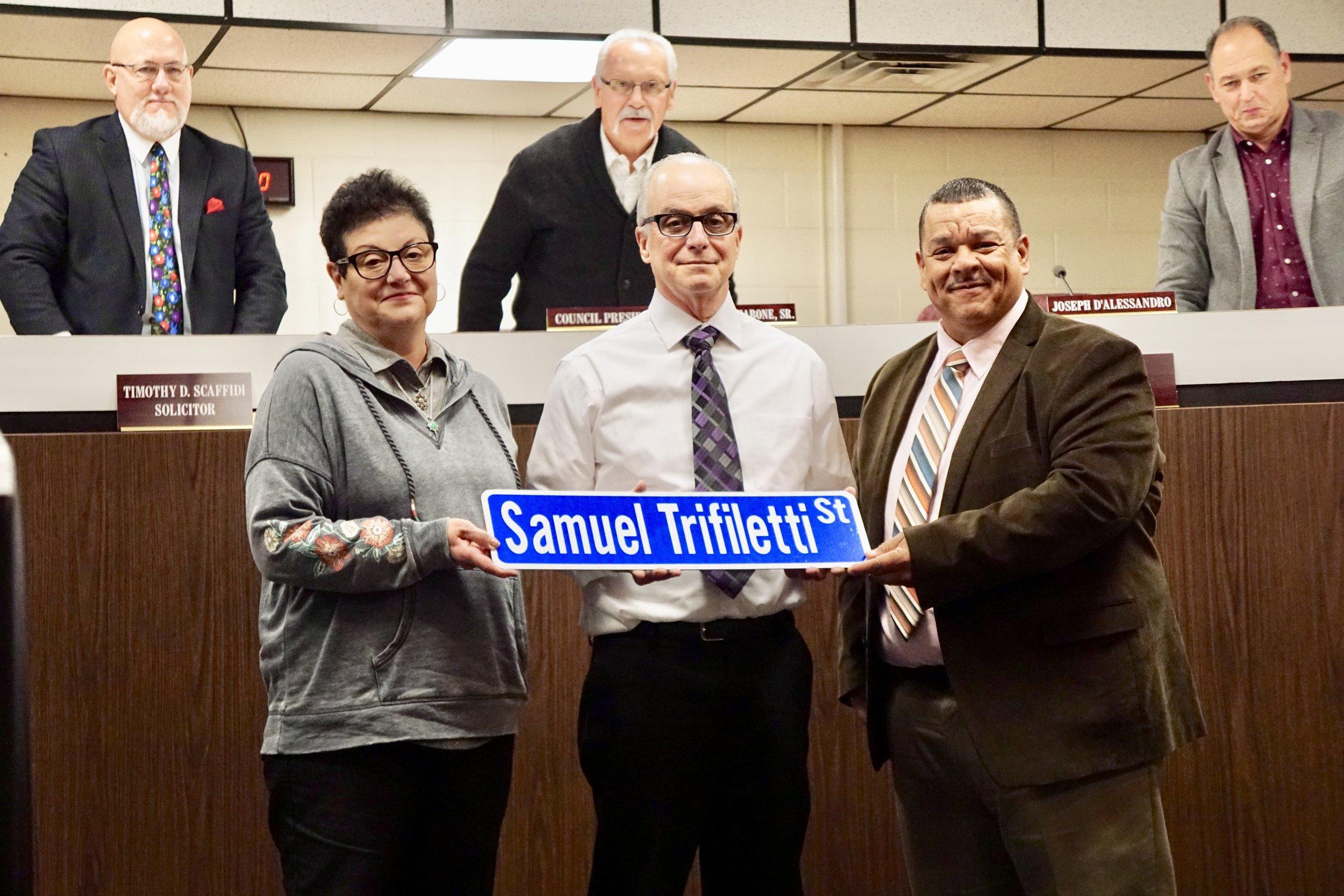 Presidential Street in Glassboro renamed to Samuel Trifiletti Street