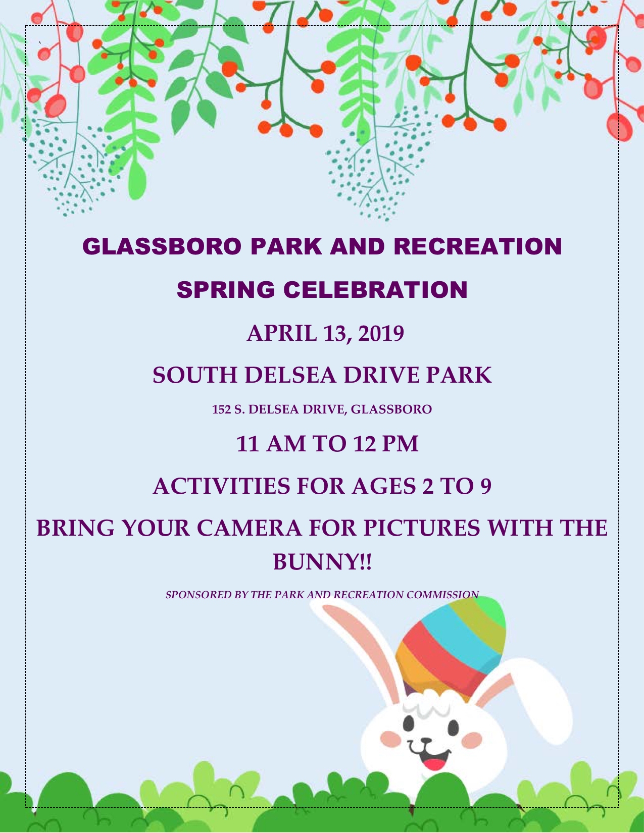 glassboro park and rec SPRING CELEBRATION 2019.jpeg