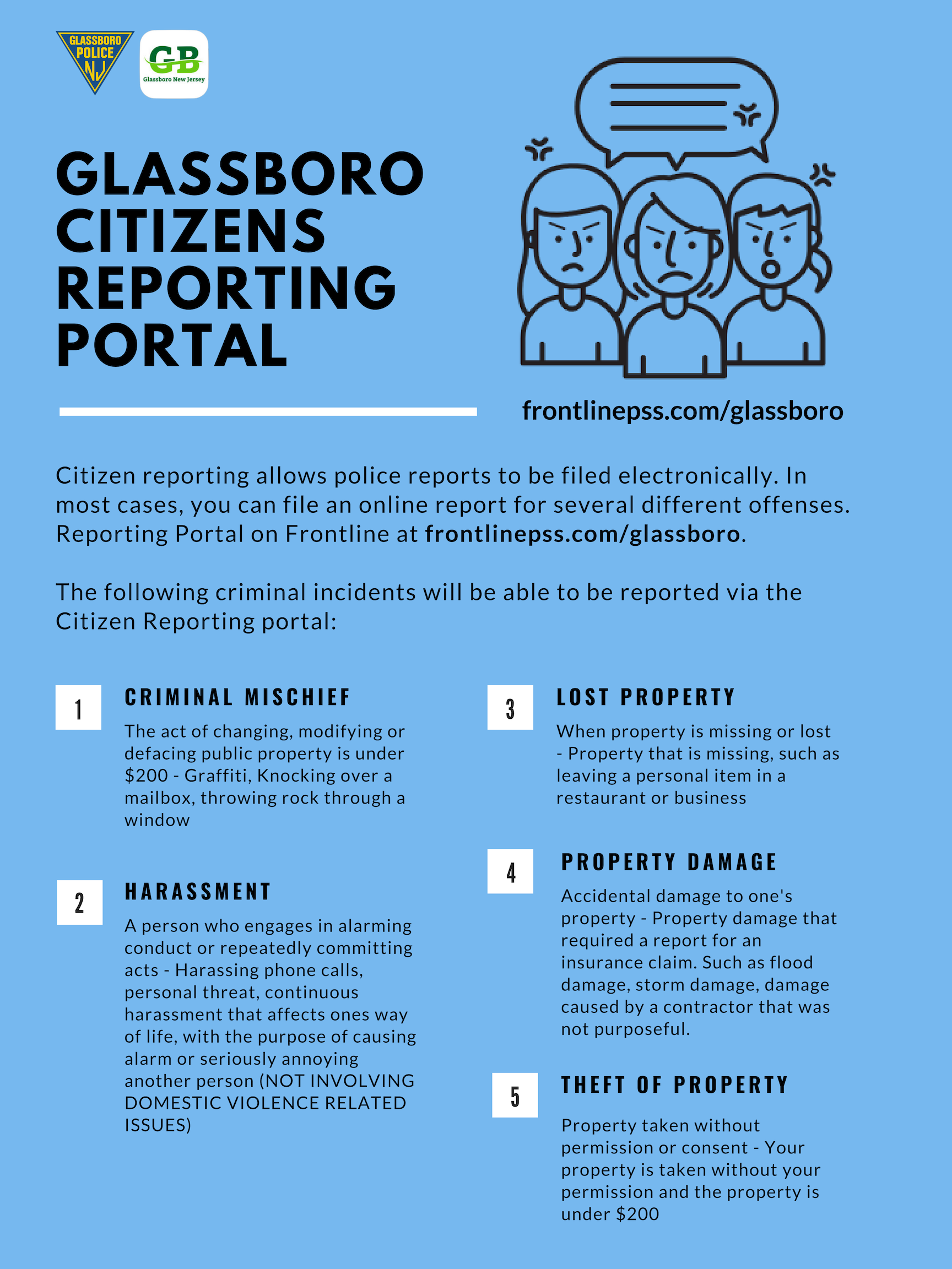 glassboro citizens reporting portal.png