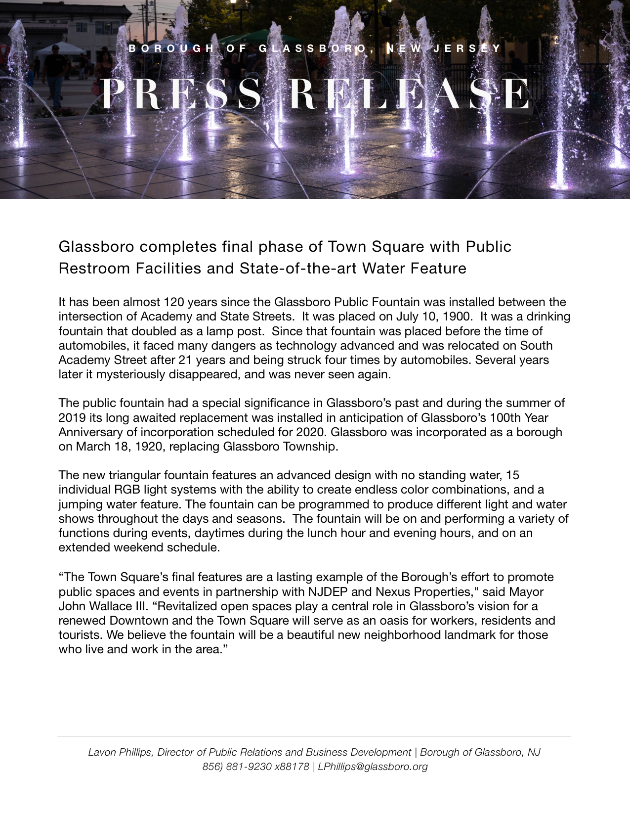 Glassboro NJ Press release Town Square New Bathrooms and water feature copy.jpeg