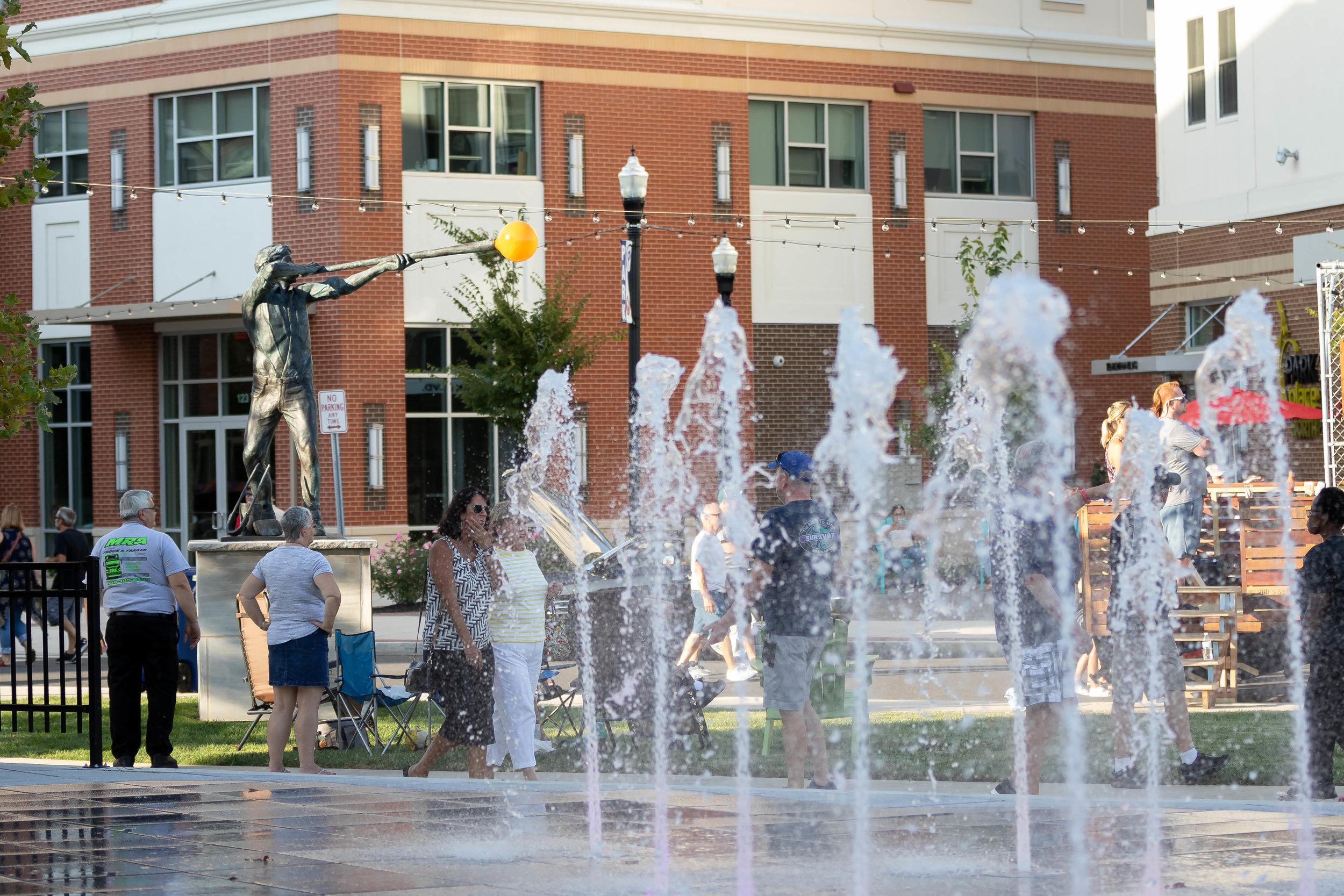 glassboro town square fountain