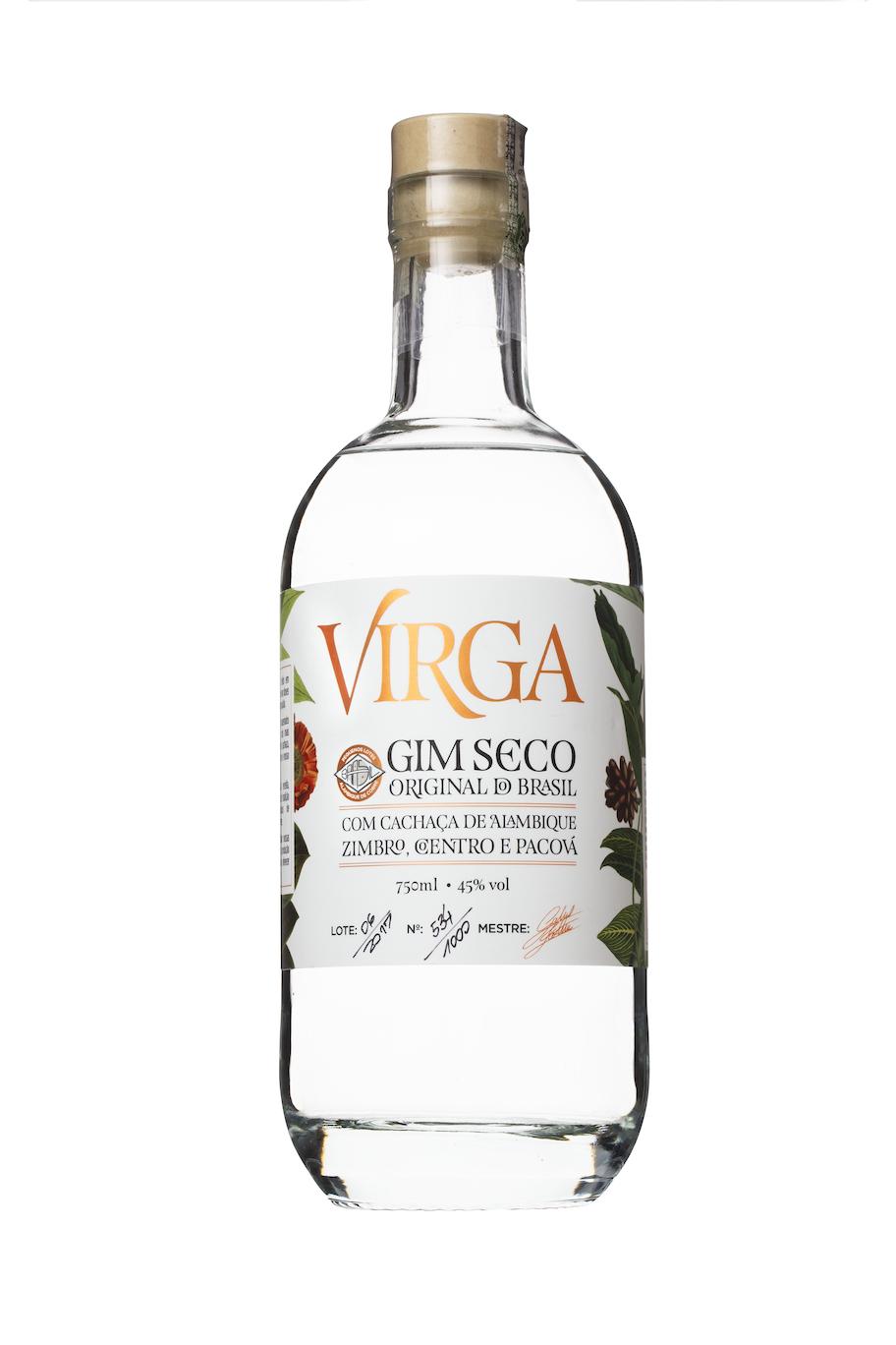 Virga - Gim Seco do Brasil - Compre uma garrafa de Virga, o gim mais brasileiro do mundo,com nossos parceiros do GinFest.com.br