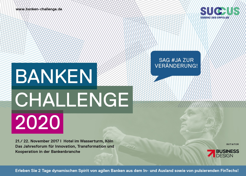 Hier geht's zum Programm der Banken Challenge 2020 - 2017 Edition im PDF Format .