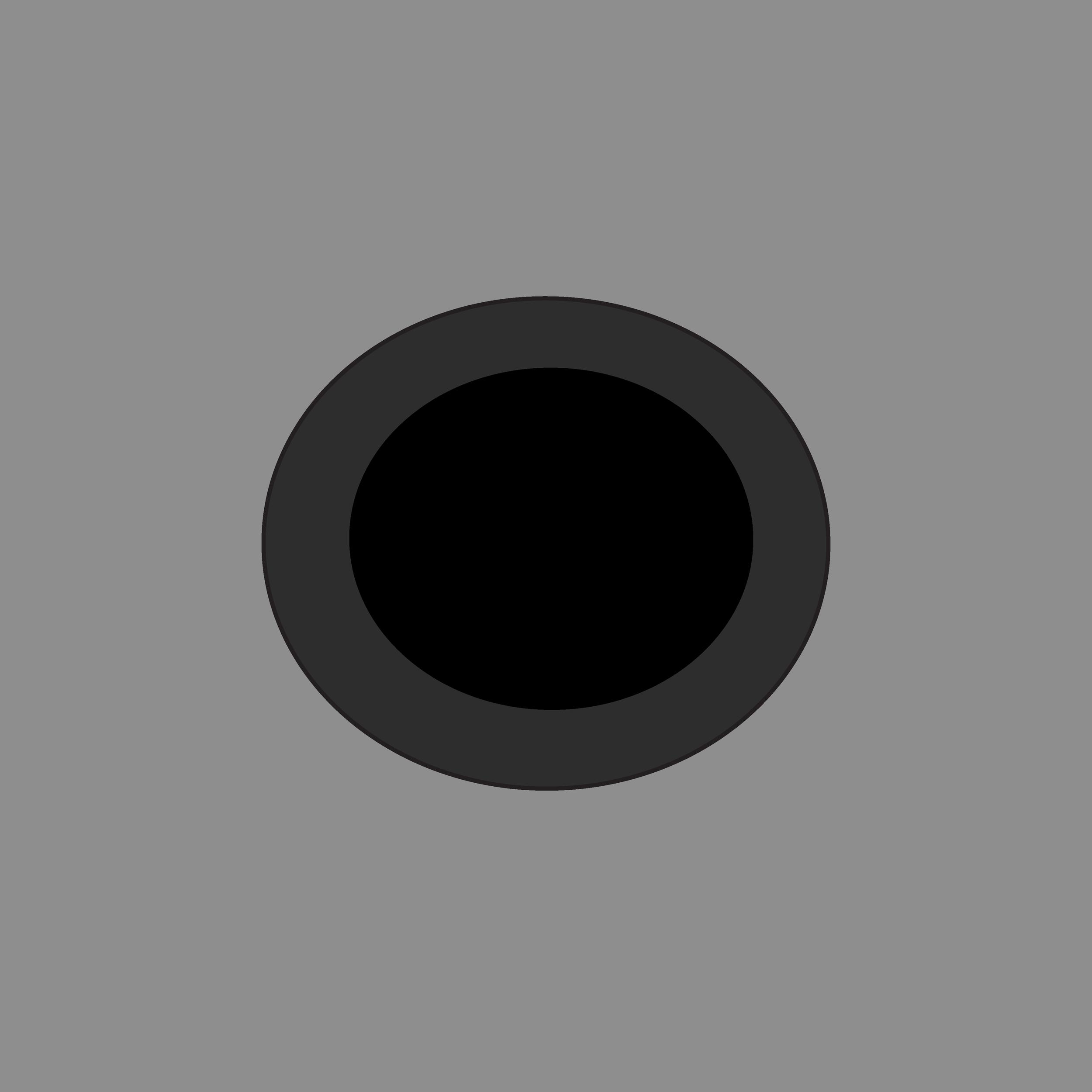 Black Plastic Eyelet