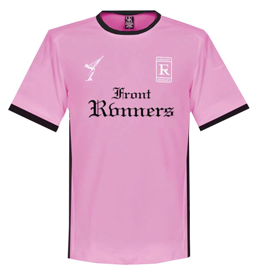 Pink Soccer Jersey