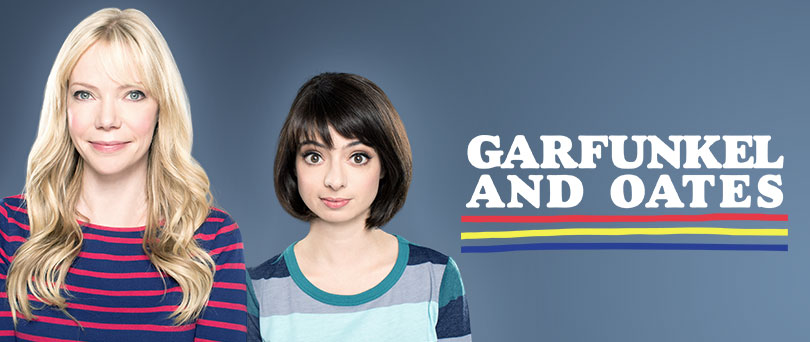 Although it was cancelled after only one season I truly believe this is a must watch. Garfunkel and Oates (Real names Riki Lindholme and Kate Miccuchi) are musical comedians that write and perform funny songs. The show takes place in Hollywood, California and shines a light on the world of show biz. All they want is to be respected and successful but they have to go through a lot to get there.  The show also mixes in music videos to most popular songs in a really creative way. They have some good guest appearances too like Natasha Leggero and Anthony jeselnik. This show is different than everything else on tv and it deserves to be seen.