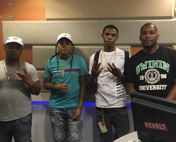 Don Q, Young M.A, A Boogie, and DJ Self