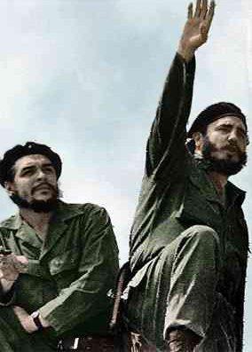 Che Guevara and Fidel Castro in 1961. Photo: Alberto Korda