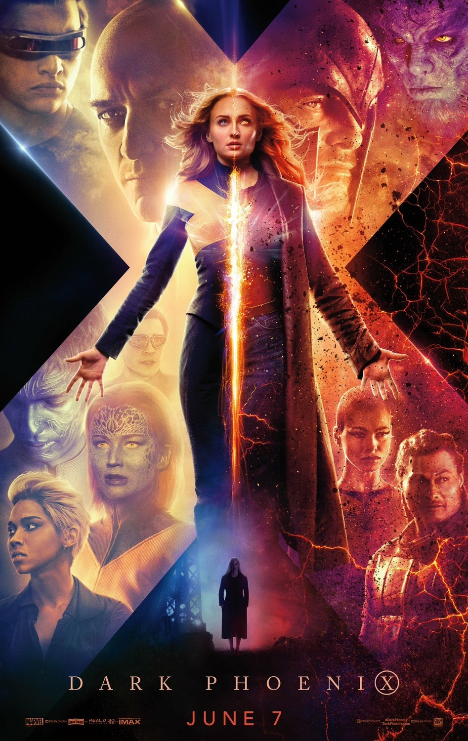 This is the story of one of the X-Men's most beloved character as she evolves into the iconic DARK PHOENIX. Wrestling with an increasingly unstable power as well as her own personal demons, Jean Grey spiraling out of control threaten the fabric of just not the X-Men but of our planet. The family of mutants that we've come to know and love must face their most devastating enemy yet – one of their own.