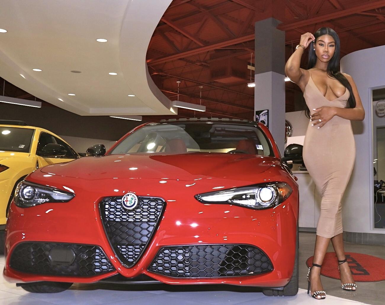 Image provided by Palmetto Alfa Romeo Fiat Alfa - Car Model: Romeo Giulia Nero Edition