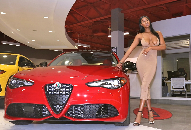 Image provided by Palmetto Alfa Romeo Fiat Alfa - Car Model: Alfa Romeo Giulia Nero Edition