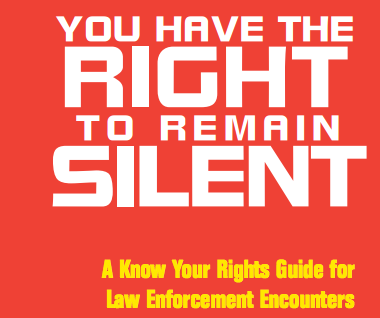 Know Your Rights Booklet (NLG)
