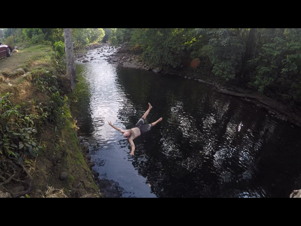 Tales of my adventures with the rope swing have gone viral through R's facebook post. Nothing more needs to be said.