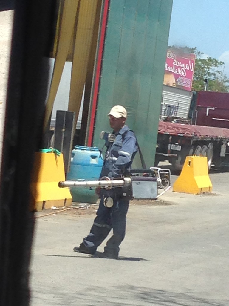 This guy sprayed evil-smelling gas into and under Wesley in an attempt to kill every living thing, including us.