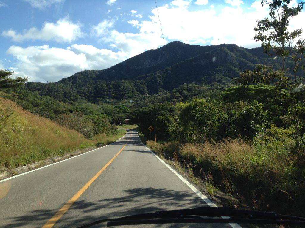 The roads in Honduras surprised us with their good condition.